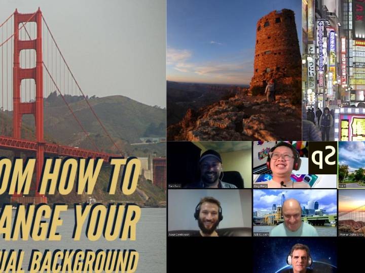 How to Change the Virtual Background on Zoom – Photo & Video