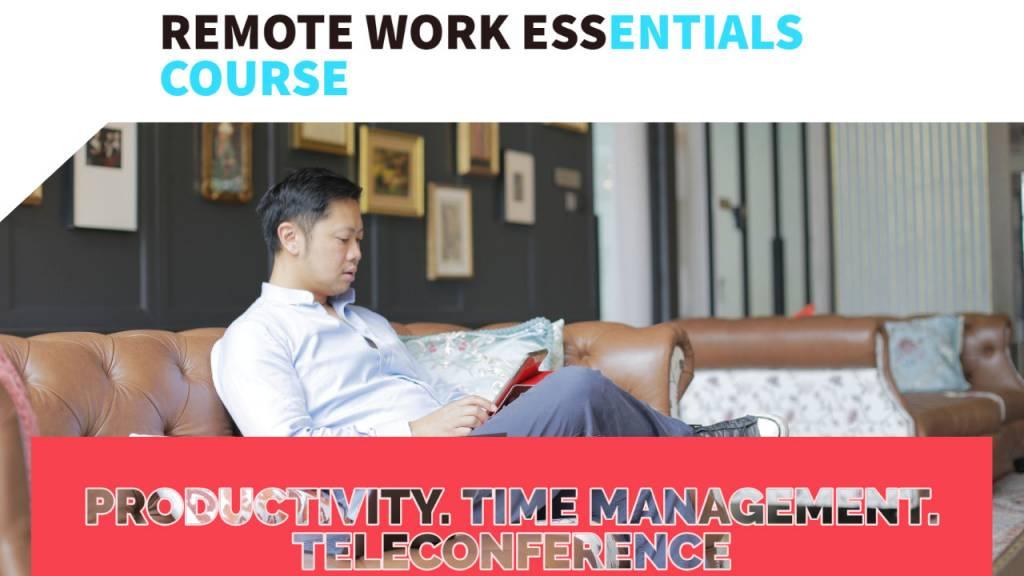 remote work essentials - online course