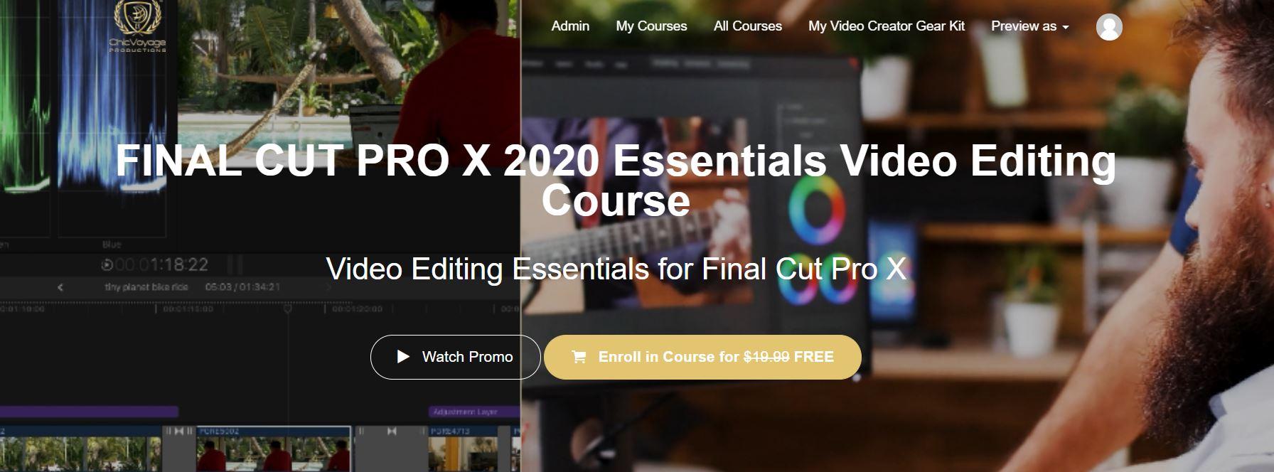 final cut pro x course premiere pro bundle