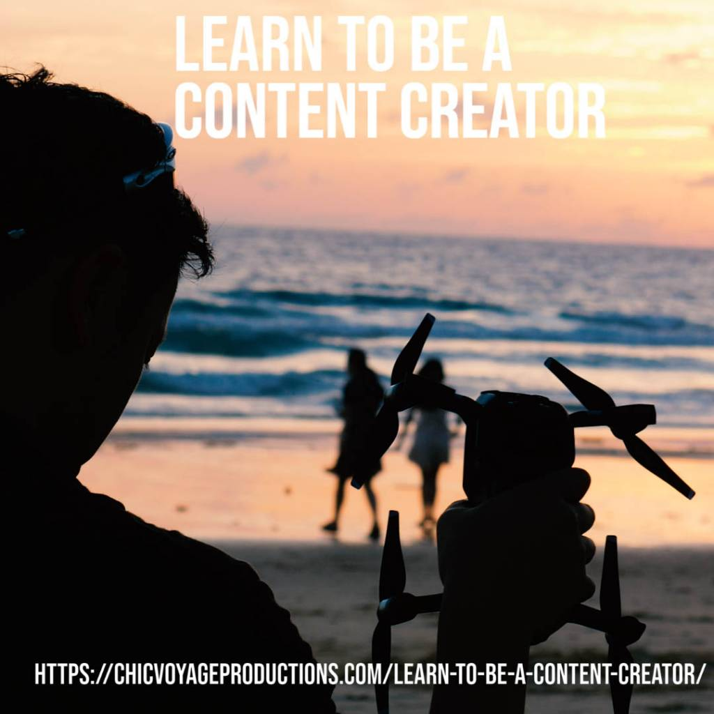 learn to create content