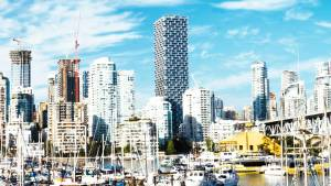 vancouver stock footage 4k