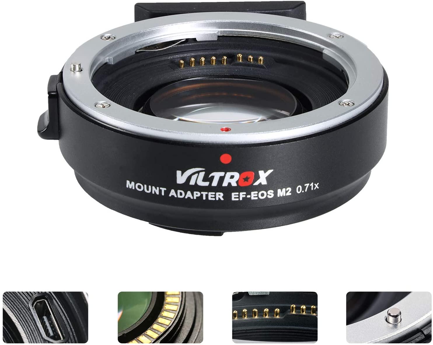 viltrox lens adaptor for canon