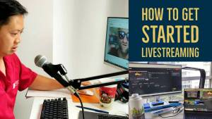 how to get start livestreaming on youtube