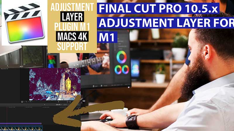 final cut pro m1 adjustment layer