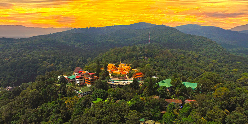 Chiang Mai Thailand Drone Aerial NFT collection
